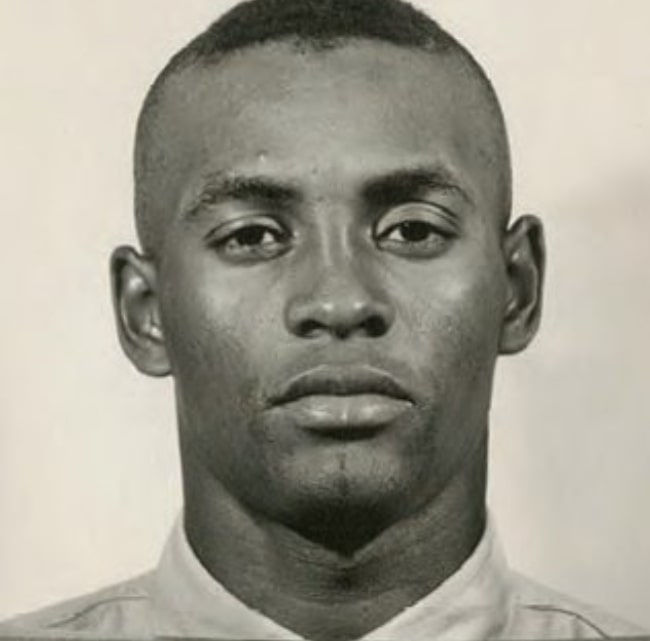 Roberto Clemente as seen in the U.S. Marine Corps Reserve in September 1958