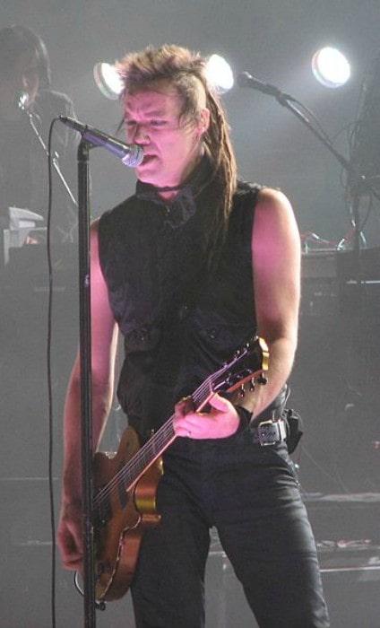 Robin Finck during a performance as seen in September 2008