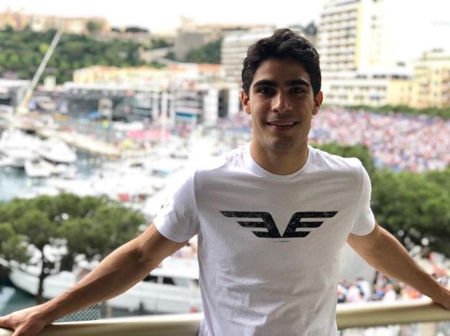 Sérgio Sette Câmara on the sidelines of the Monaco GP in May 2019