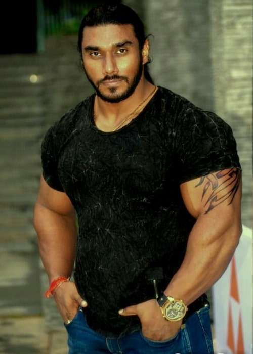 Sangram Chougule as seen in a picture taken on October 13, 2014