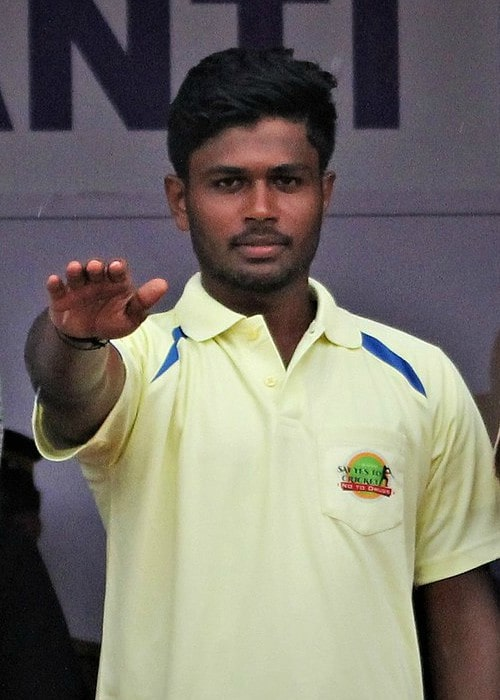 Sanju Samson as seen in November 2017