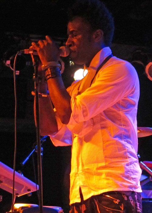 Saul Williams as seen while performing at Bottom Lounge in Chicago, Illinois, United States in March 2012