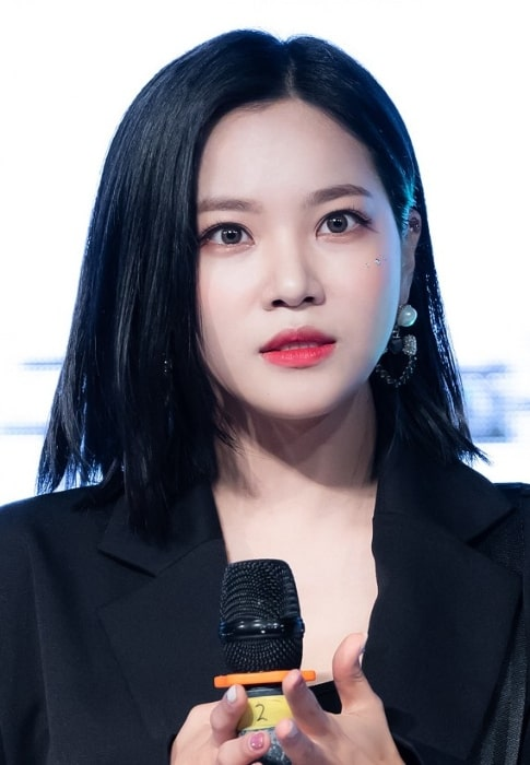Seoyul as seen during an event at Politech University in Gumi on May 10, 2019