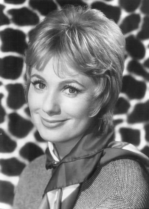 Shirley Jones smiling for the camera