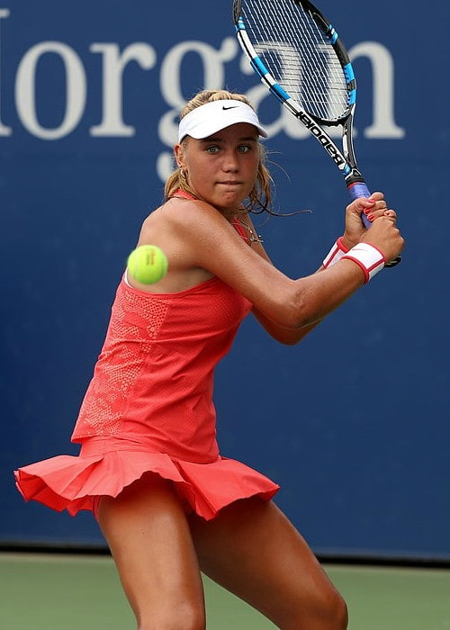 Sofia Kenin at the 2015 US Junior Open