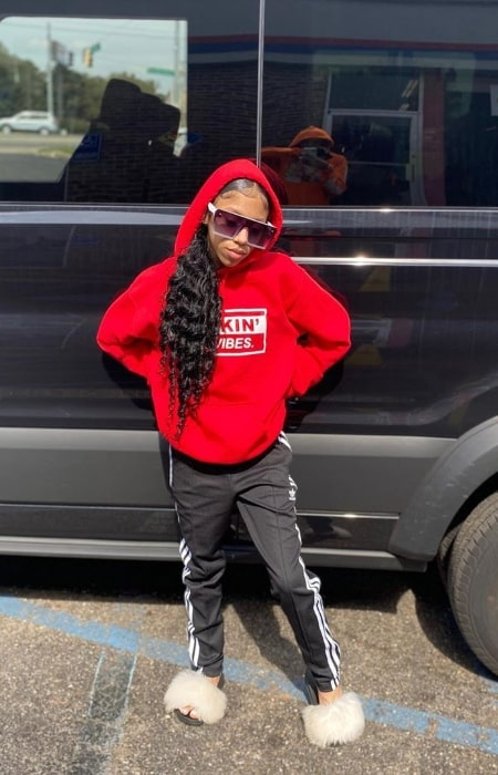 Solai Wicker as seen while posing for a picture in Mobile, Alabama in February 2020