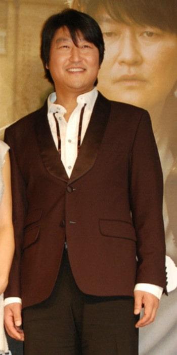 Song Kang-ho as seen in April 2007
