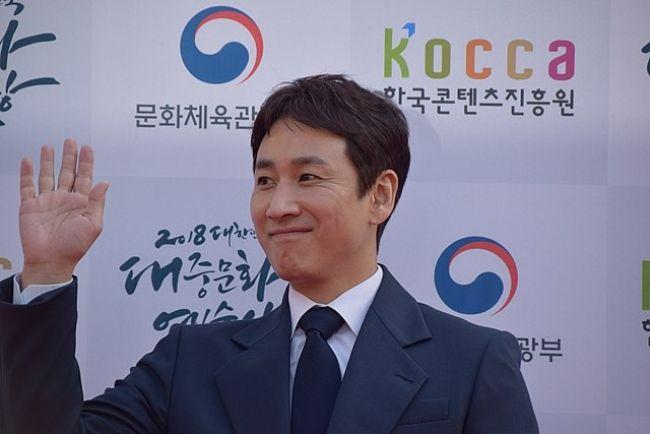 South Korean actor Lee Sun-kyun