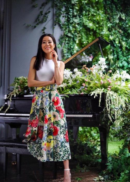 Stephanie Soo as seen in an Instagram Post in April 2019
