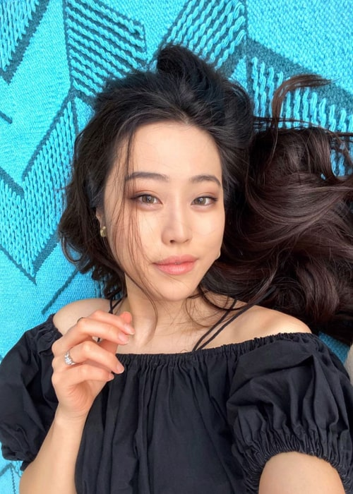 Stephanie Soo in an Instagram selfie from October 2019