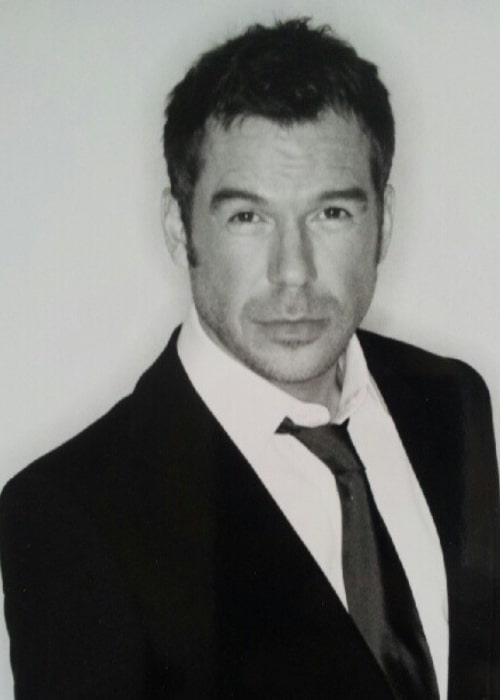 Steve Brookstein as seen in a black-and-white picture