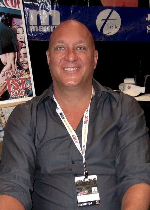 Steve Wilkos as seen on Day 4 of the 2012 New York Comic-Con at the Jacob K. Javits Convention Center in Manhattan on October 14, 2012