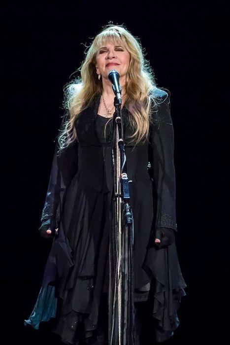 Stevie Nicks performing in Austin, Texas during her 24 Karat Gold Tour