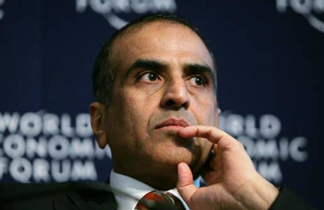 Sunil Bharti Mittal at the annual meeting in 2008 of the World Economic Forum