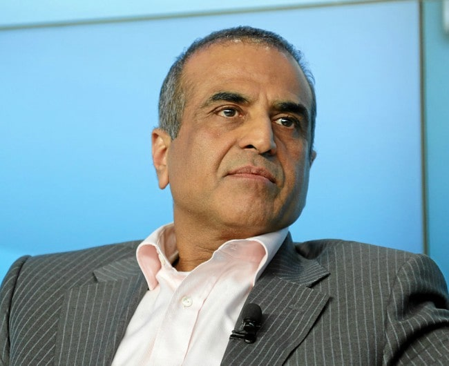 Sunil Bharti Mittal at the annual meeting in 2013 of the World Economic Forum