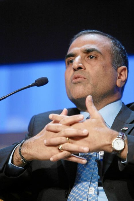 Sunil Bharti Mittal during an event in January 2007