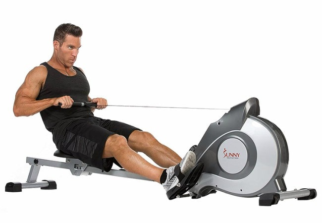 Sunny Health & Fitness SF-RW5515 Magnetic Rowing Machine Rower Workout