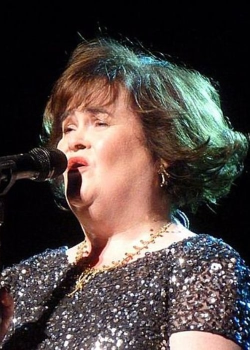 Susan Boyle at the Edinburgh Festival Theater, July 12, 2013