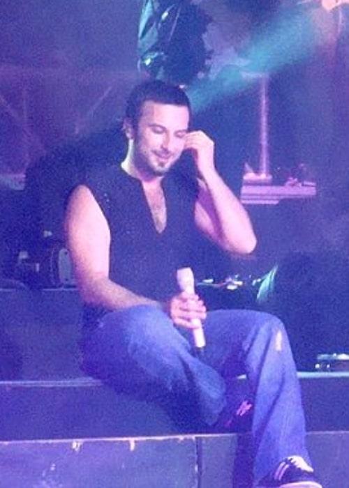 Tarkan as seen during a concert in June 2007