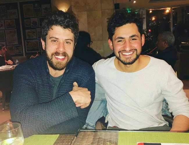 Toby Kebbell (Left) and Amir El Masry as seen in February 2019
