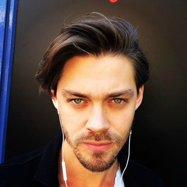 Tom Payne in an Instagram selfie as seen in June 2015