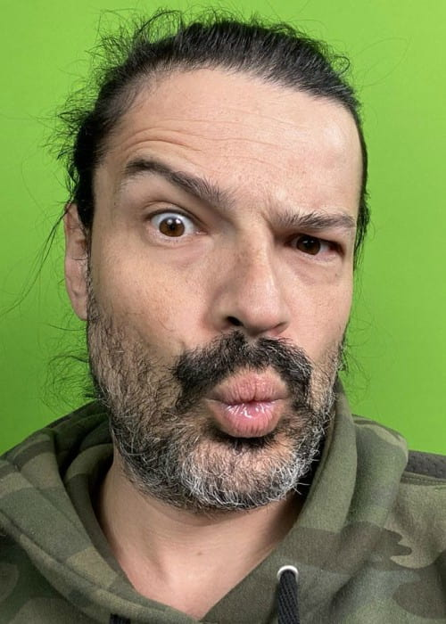 Tomo Miličević in an Instagram selfie as seen in November 2019