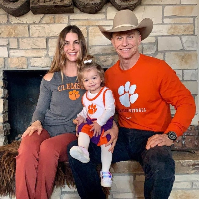 Ty Murray with his family as seen in January 2020