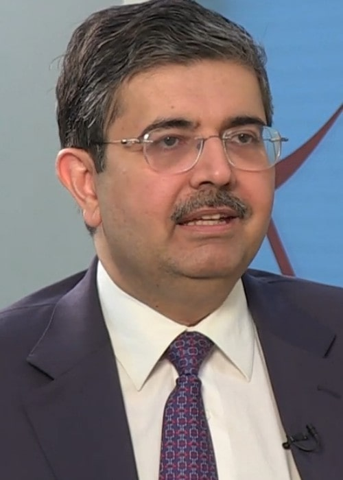 Uday Kotak during an interview as seen in April 2014