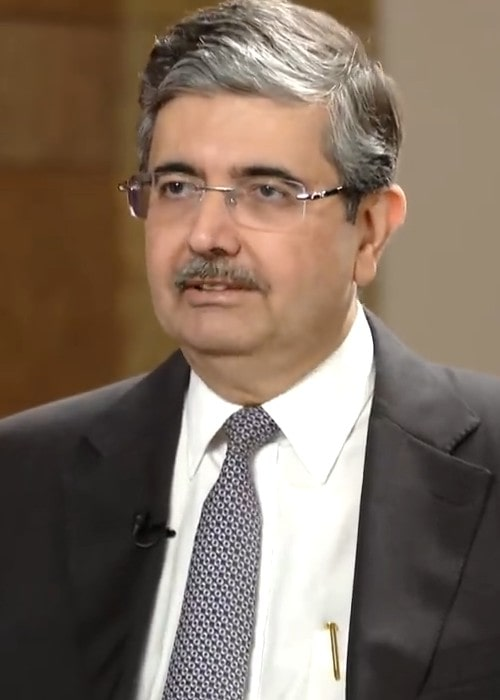 Uday Kotak during an interview in February 2019