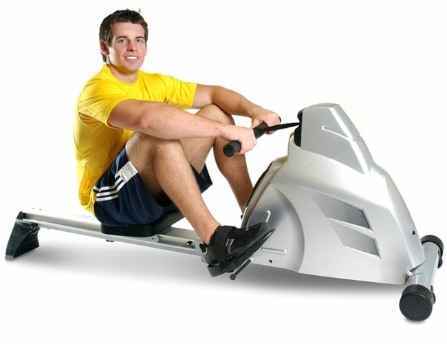 Velocity Exerciser Magnetic Rower Workout