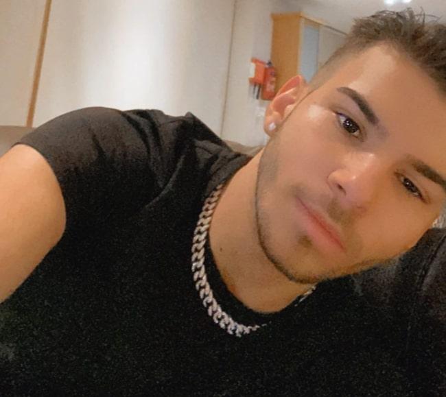 VladTeeVee as seen while taking a selfie in January 2020