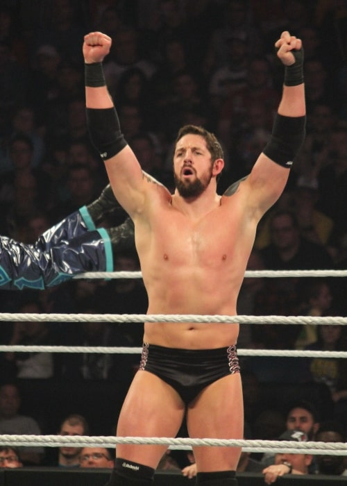 Wade Barrett as seen in a picture taken after a match on April 7, 2014