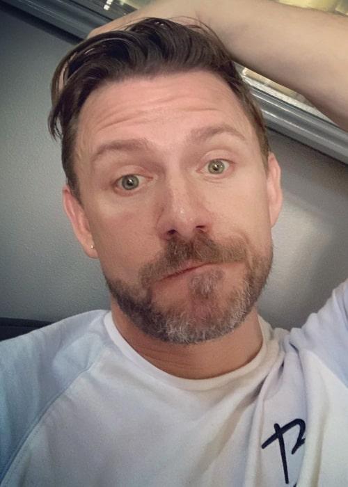 Wayne Goss as seen in an Instagram selfie in August 2019