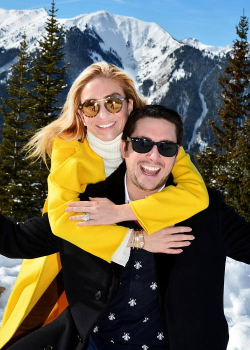 Whitney Wolfe Herd and Michael Herd as seen in December 2017