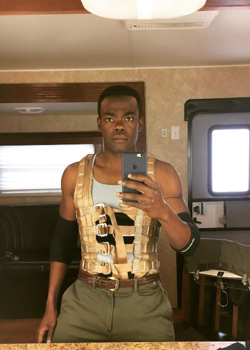 William Jackson Harper as seen while taking a mirror selfie in November 2018