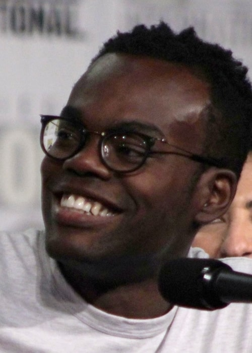 William Jackson Harper at the San Diego Hilton Bayfront Hotel during San Diego Comic-Con on July 21, 2018
