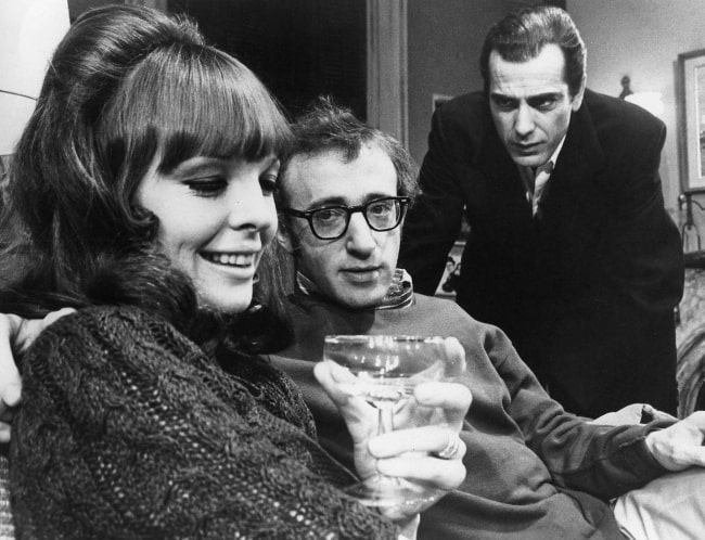 Woody Allen (Center) with Diane Keaton and Jerry Lacy from the Broadway play 'Play It Again, Sam'