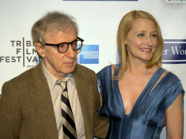 Woody Allen as seen alongside Patricia Clarkson at the 2009 Tribeca Film Festival premiere of 'Whatever Works'