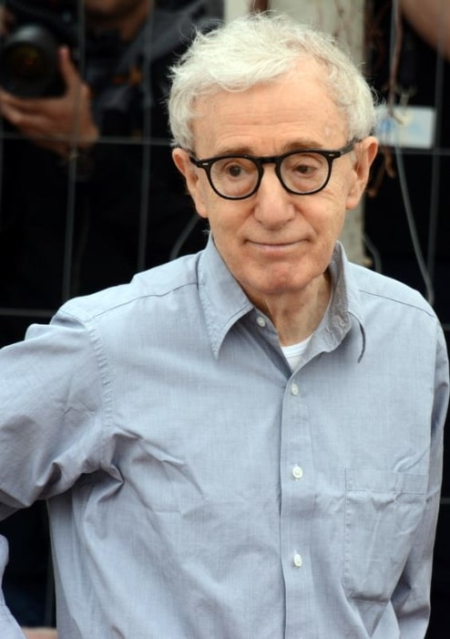 Woody Allen as seen at Cannes 2016