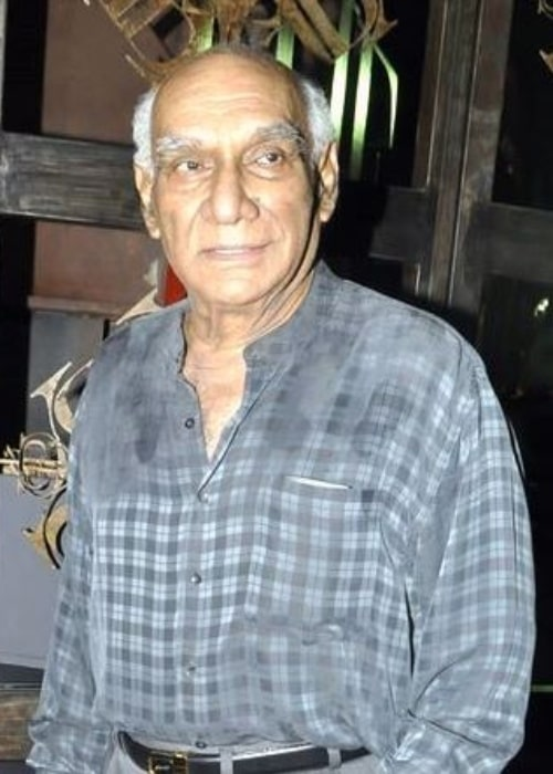 Yash Chopra as seen at the launch of Suzanne Roshan's The Charcoal Project in March 2011