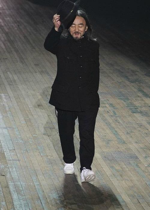 Yohji Yamamoto as seen in February 2010
