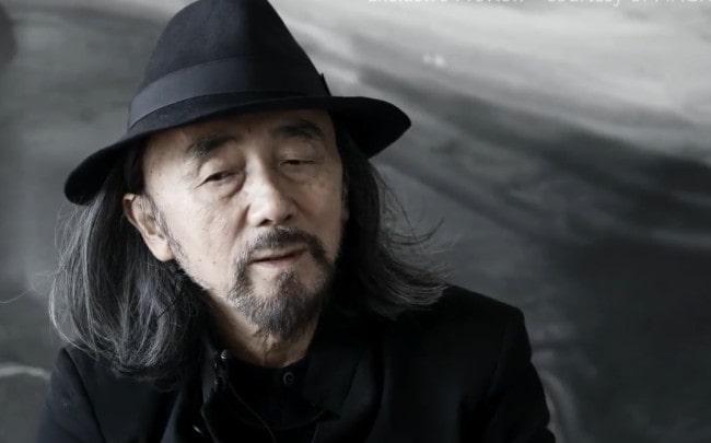 Yohji Yamamoto during an interview in November 2017