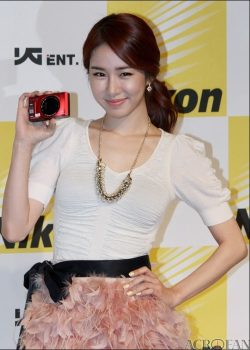 Yoo In-na as seen in March 2011