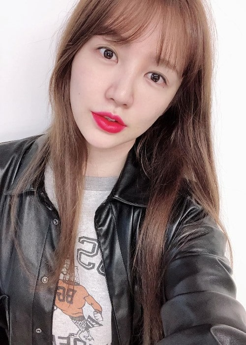 Yoon Eun-hye as seen in October 2019