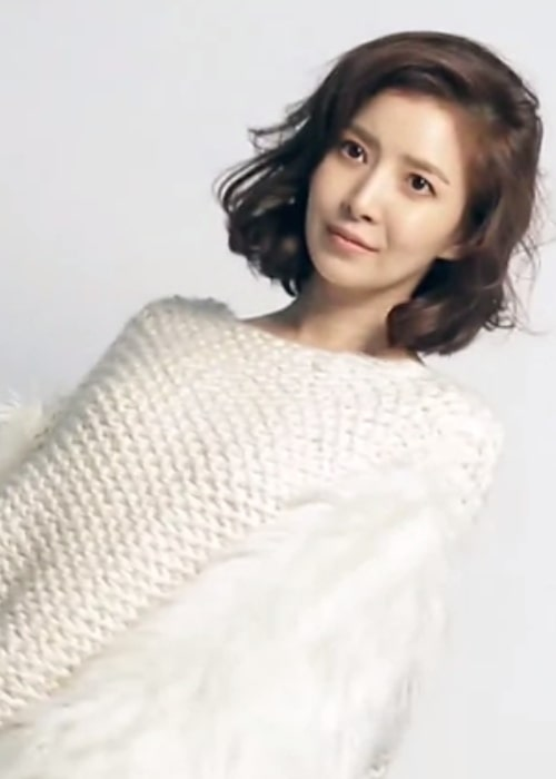 Yoon Se-ah as seen in a picture taken during a shoot for Women Sense in February 2018