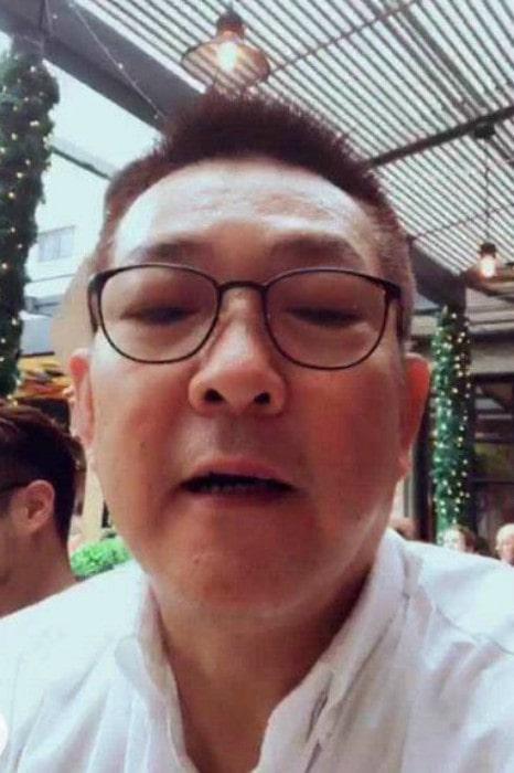 Yuen Biao in a selfie
