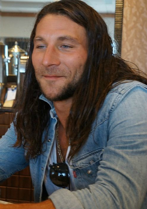 Zach McGowan at the 2013 SDCC