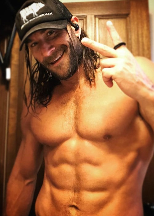 Zach McGowan in an Instagram post as seen in October 2018