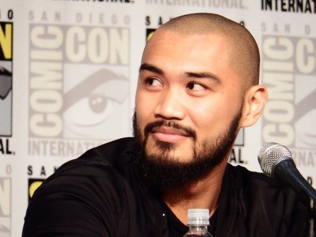 Alex Mallari Jr. as seen at a picture taken at the San Diego Comic-Con 2016 in San Diego, California, United States