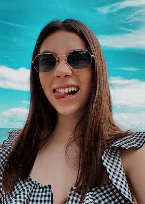 Alexa Rivera Villegas in an Instagram selfie in January 2020